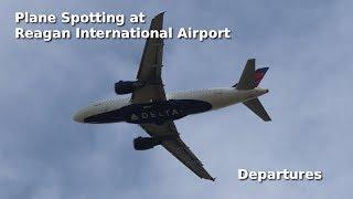 Baixar Plane spotting at Reagan International Airport, Washington DC - Departures