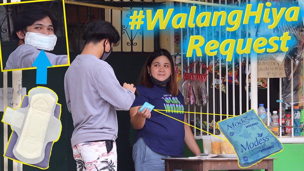 Bumili ng NAPKIN at gawing FACEMASK (Prank) | #WalangHiya Request