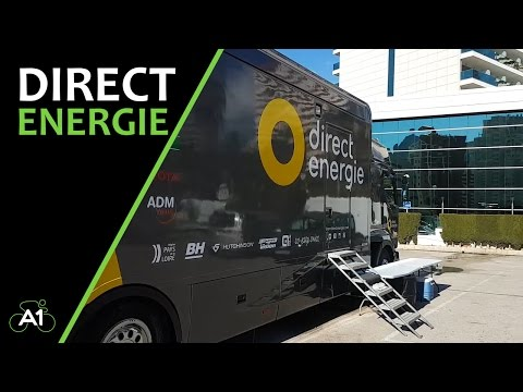 Tour of Direct Energie Professional Cycling Team at Calpe Training Camp Spain