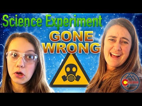 EPIC FAIL! – Homeschool Science Experiment GONE WRONG! – Day in the Life of a Homeschool Mom!