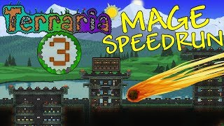 Terraria: Mage Speedrun Part 3 - METEOR SEARCH