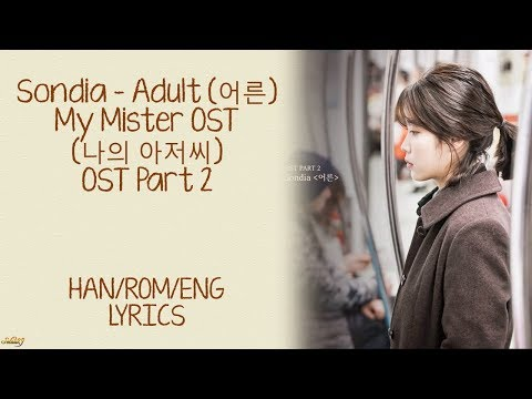 Sondia (손디아) - Adult (어른) My Mister/나의 아저씨 OST Part 2 LYRICS