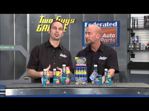 Star Tron Fuel Treatment on Two Guys Garage - Speed Channel