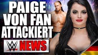 Paige von Fan attackiert, Warum Big Cass entlassen wurde   WWE NEWS 43/2018
