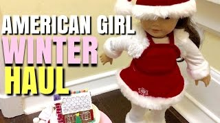 American Girl Doll Winter Haul