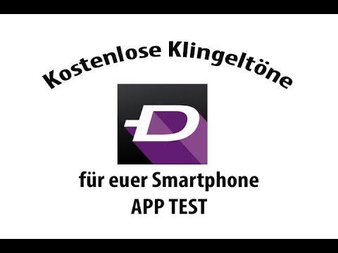Gratis Klingelton App Zedge für iPhone Samsung usw.. Die Ringtone App