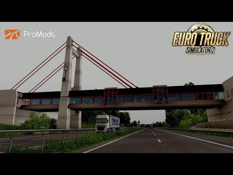 ETS 2- ProMods 2.20 and Scandinavia Map Mod / Goteborg to Latvia / Copper Roof Gutters