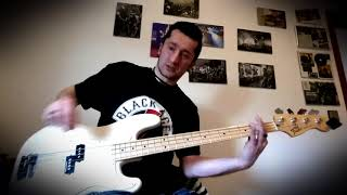 BODYCOUNT - BLACK HOODIE BASS COVER Marco Tardanico