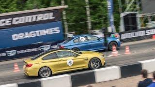 BMW M5 Evotech vs BMW M4 JB4 560 на Unlim 500+ 31.05.2015