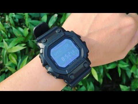 37dbe4544ab9 G-SHOCK GX56BB-1 CASIO FULL VIEW ON HAND - YouTube