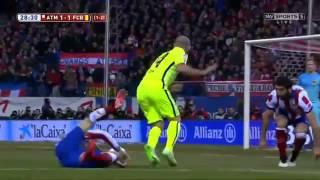 Atletico Madrid vs Barcelona (2-3) 28.01.2015 Geniş Özet | All Goals