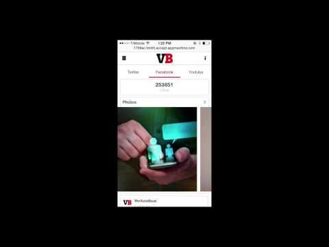 VentureBeat App built using AppMachine and Famo.us