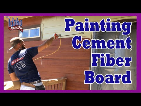 how-to-spray-hardie-plank.-home-improvement-tips-painting-cement-fiber-board.