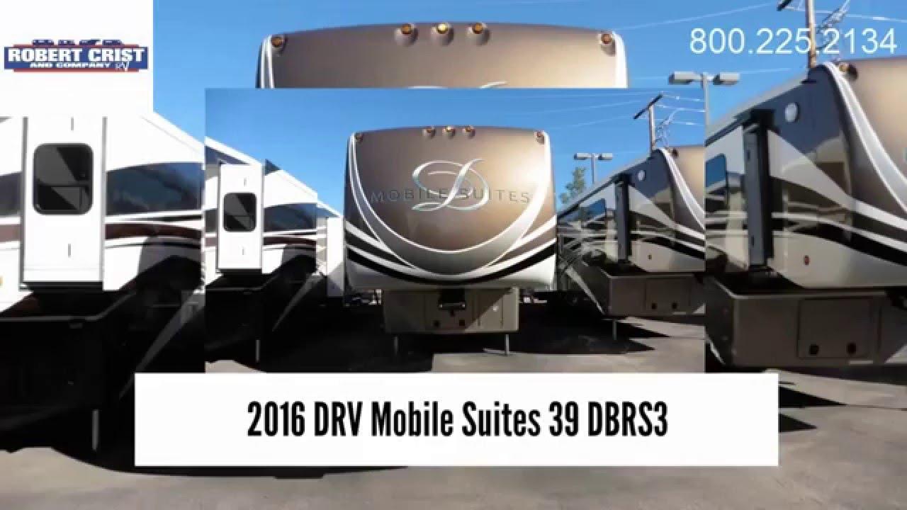2016 Drv Mobile Suites 39 Dbrs3 Mesa Az 5th Wheel For
