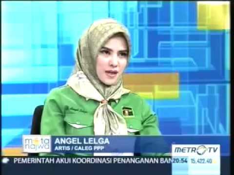 Jawaban Ngawur Angel Lelga Dalam Acara Mata Najwa