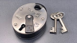 [1125] Walsall 2000 Insurance Padlock Picked (5 Lever)