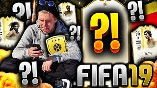 ENDELIG får jeg MITT FØRSTE ICON på FIFA 19!! 👑💥 **BEVISER at GOLD 3 er BEST på FUT CHAMPIONS**
