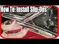 HOW TO: Install Slip-Ons Vance & Hines Straight Shots