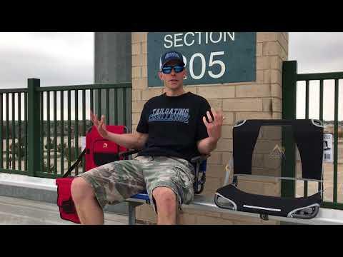 Gci outdoor BIG comfort stadium chair