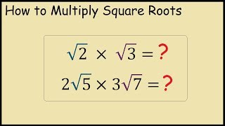 How to multiply tẁo square roots