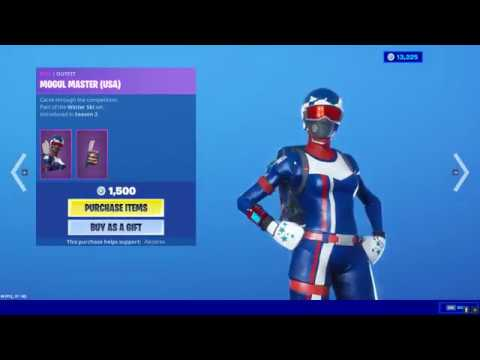 Fortnite ALPINE ACE/MOGUL MASTER IS BACK! [December 4, 2019]
