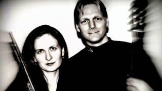 """Hamilton Bacon Duo - Handel """"Gigue"""" from Flute Sonata in F Major"""