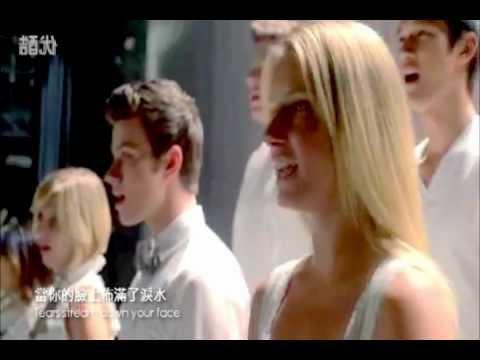 Glee Cast - Fix You (video)
