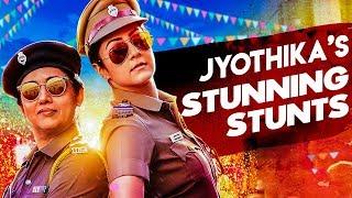 Jackpot Making : 'Jyothika Jumped from Dam ' :  Director Kalyaan Interview   Revathi , Suriya
