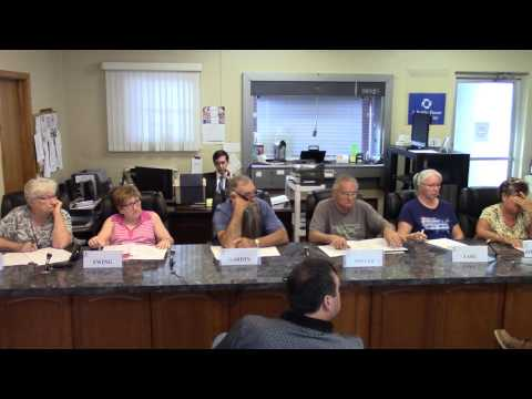 Waynesfield Village Council Meeting 07/24/17 (Part 1 of 2)