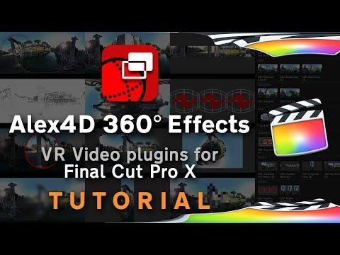 Alex4D 360° Effects - plugins for Final Cut Pro X | Alex4D