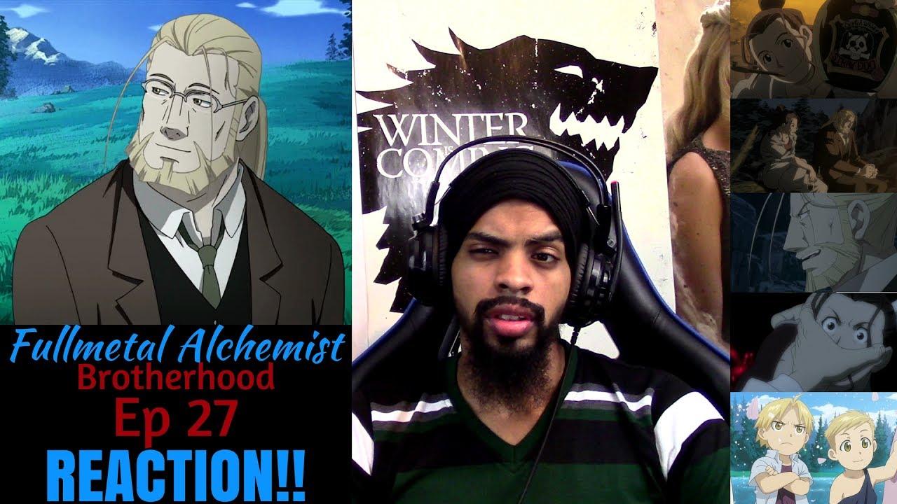 Fullmetal Alchemist Brotherhood Episode 27 REACTION/REVIEW ...