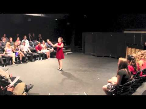 Can't Stop Talking - SDSU Musical Theatre Showcase