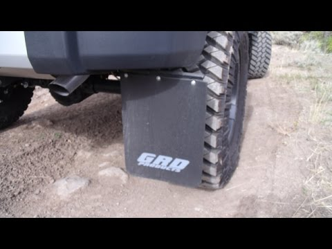 Grd Products Mud Flap Install Youtube