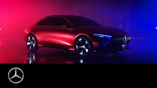 Concept A Sedan Design – Trailer – Mercedes Benz original