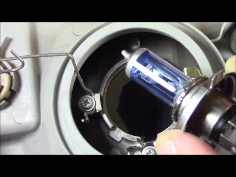 Hyundai Accent Headlight Lamp Removal/Replacement And Install