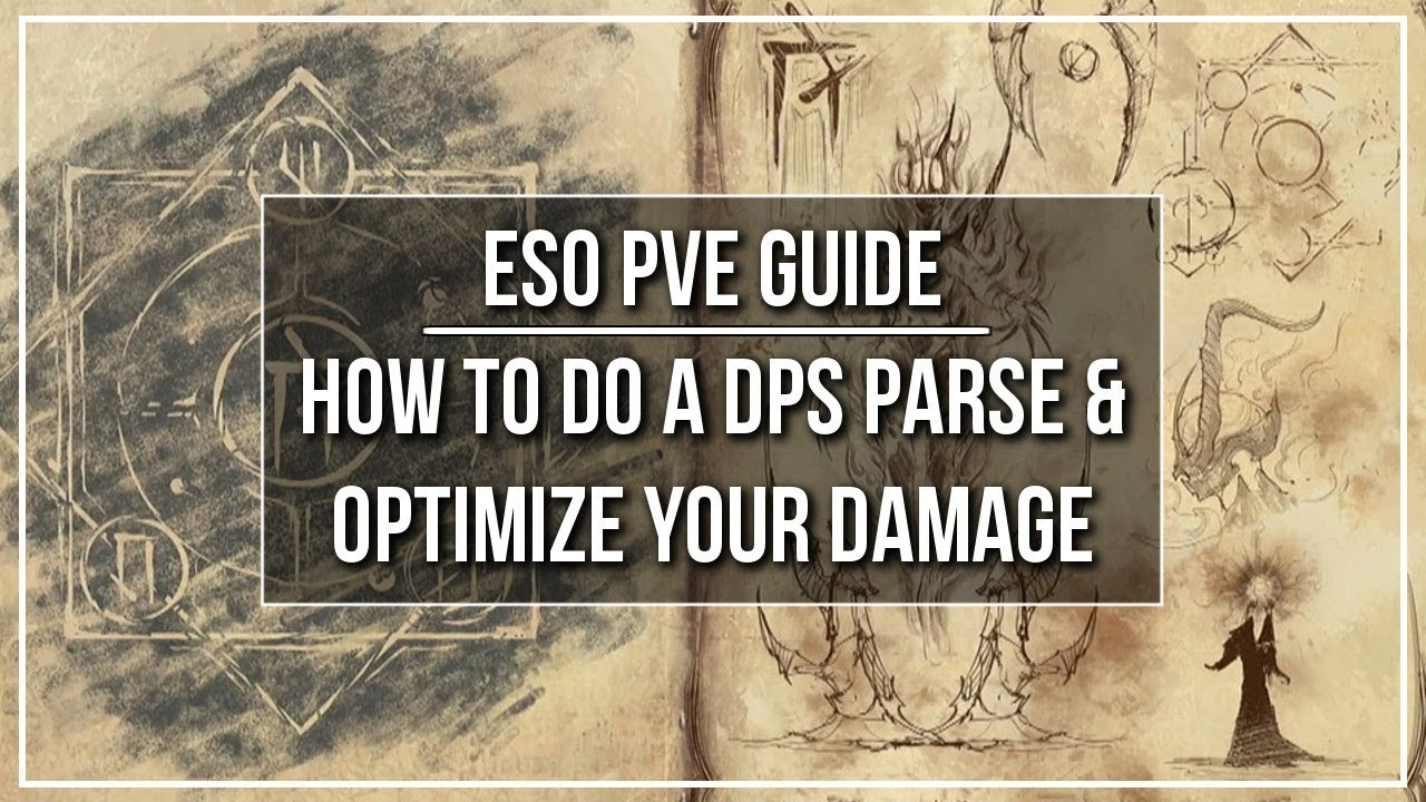 ESO Guide - How to do a DPS Parse & Optimize Your Damage