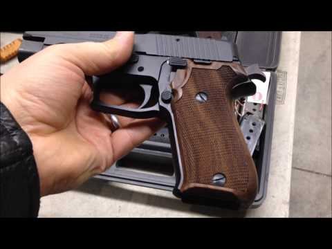 HOGUE grips for SIG P220 Review Jeff Shoots Stuff
