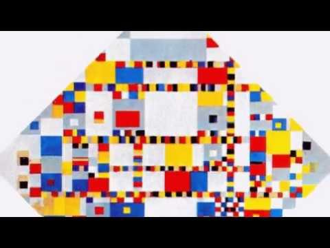 Piet Mondrian 皮特·蒙德里安 (1872-1944) De Stijl Neoplasticism Cubism Dutch