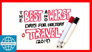 Best and Worst Days for Holiday Travel | SmarterTravel