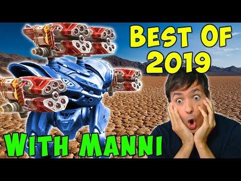 Best Of 2019 WAR ROBOTS At Manni Gaming - Fun WR Gameplay