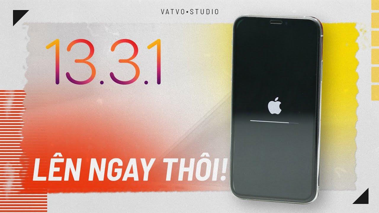 iOS 13.3.1 Pin trâu hơn, LÊN NGAY THÔI