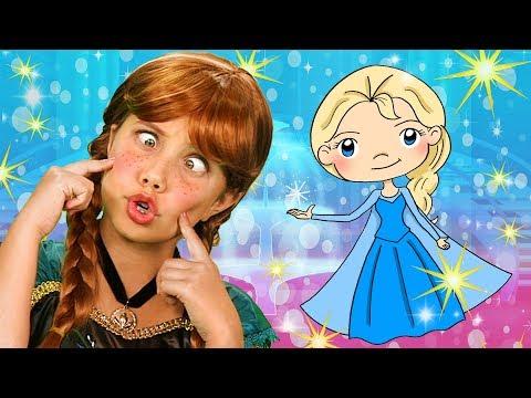 FAVORITE Frozen Finger Family | SparklePop