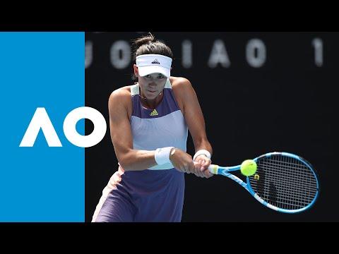Garbiñe Muguruza Vs Kiki Bertens - Match Highlights (R4) | Australian Open 2020