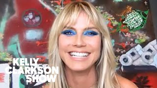 Heidi Klum Shares COVID-19 Scare And Why She Temporarily Left 'AGT'
