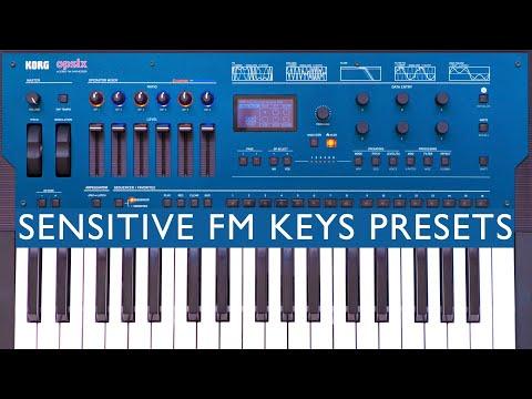 Korg Opsix - Sensitive FM Keys Presets (Demo/No Talking)