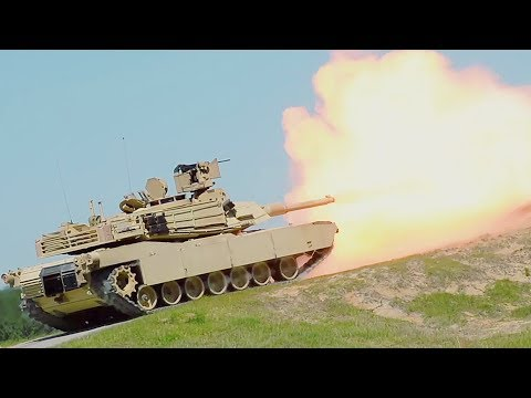 Watch Army Tank Crews Train For Tank Gunnery Competition