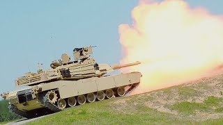 US Army 3rd Infantry Division Tanks Train For Sullivan Cup – Precision Gunnery Competition