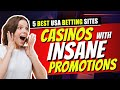 5 Best USA Betting Sites: Ton of Quality Options With Great Bonuses