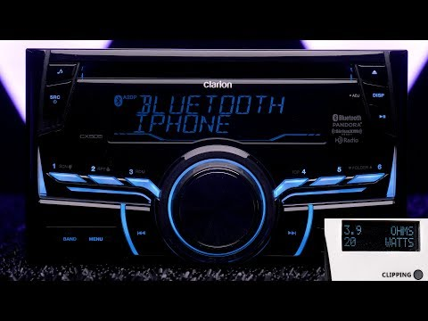 Clarion CX505 Double DIN Under $200 - Exceeds All Tests!!!