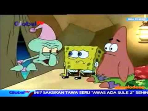 Spongebob Bahasa Indonesia Trailer Hd Global Tv Youtube